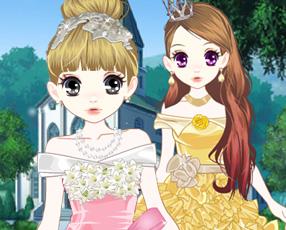 森迪公主晚礼服舞会